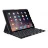 Funda + Teclado Logitech Slim Folio Black para iPad 2017/2018