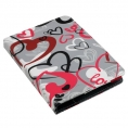 "Funda Ebook E-VITTA Booklet 6"" Crazy Hearts"