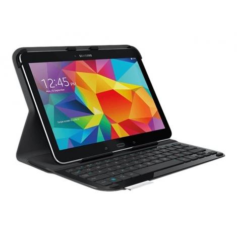 Funda Tablet Logitech Ultra Thin Folio + Teclado Bluetooth para Galaxy TAB 4 10