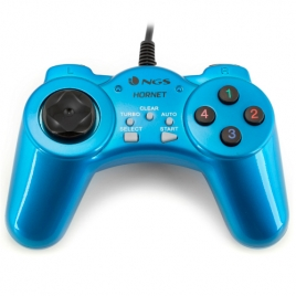 Gamepad NGS Ergonomico PC Hornet USB 3.0 Blue