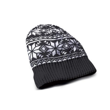 Gorro Celly con Auricular + Microfono Winter Collection Black