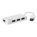 HUB Trendnet 4 Puertos USB 3.0 Mini White