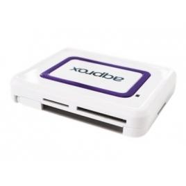 Lector Memorias Approx 32 EN 1 USB 2.0 White + Lector Dnie