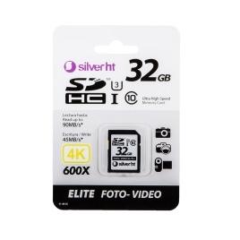 Memoria SD Silver HT 32GB Class 10 Elite PRO 633X