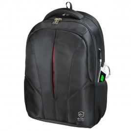 "Mochila Portatil E-VITTA 16"" Cityjet Backpack Black"