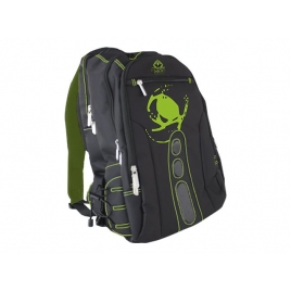 "Mochila Portatil Keep Out BK7 Gaming 15.6"" Black/Green"