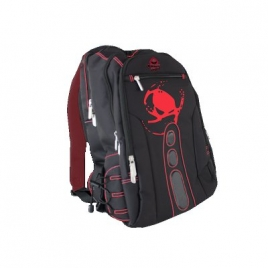 "Mochila Portatil Keep Out BK7 Gaming 15.6"" Black/Red"