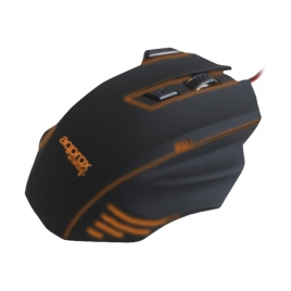 Mouse Approx Gaming Twister 2 6 Botones Black USB