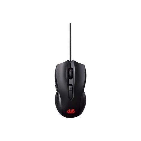 Mouse Asus Cerberus Optico 2500DPI Black