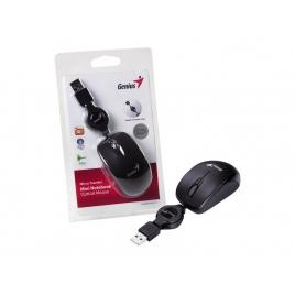 Mouse Genius Optico Micro Traveller Black USB