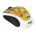 Mouse Logitech Wireless M238 Doodle Collection Gogo Gold