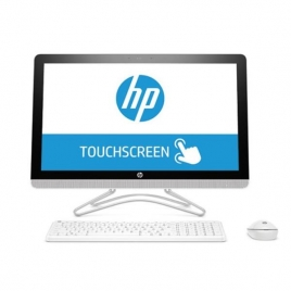"Ordenador ALL IN ONE HP 24-E005NS CI5 7200U 8GB 2TB 23.8"" FHD Tactil Dvdrw W10 White"