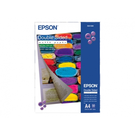 Papel Epson A4 Mate 50H Doble Cara