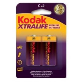 Pila Alcalina Kodak Xtralife Tipo C Pack 2