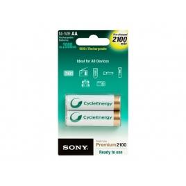 Pila Recargable Sony Tipo AA 2100MAH Pack 2