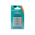 Pila Recargable Sony Tipo AAA 800MAH Pack 4