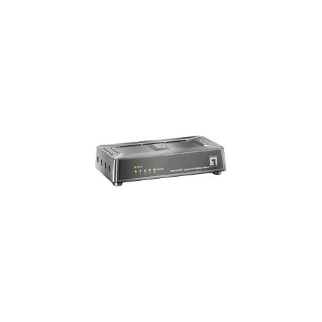 Switch Level ONE FSW-0508TX 10/100 5 Puertos Base Magnetica