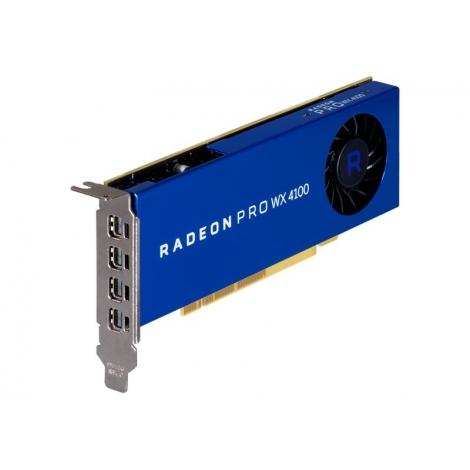Tarjeta Grafica PCIE AMD Radeon PRO WX 4100 4GB DDR5 4Xmini DP