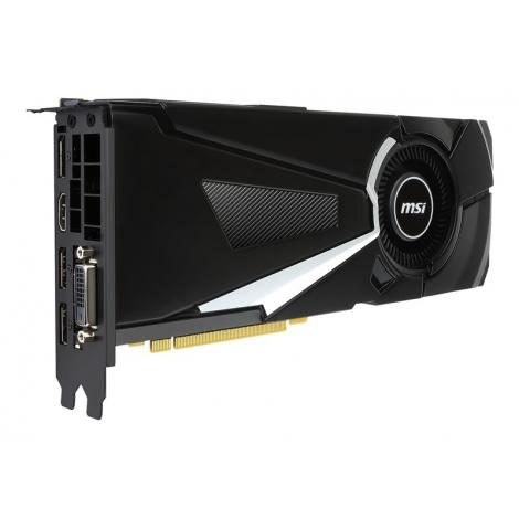 Tarjeta Grafica PCIE Nvidia GF GTX 1080 Aero 8GB OC DDR5 DVI 3XDP HDMI