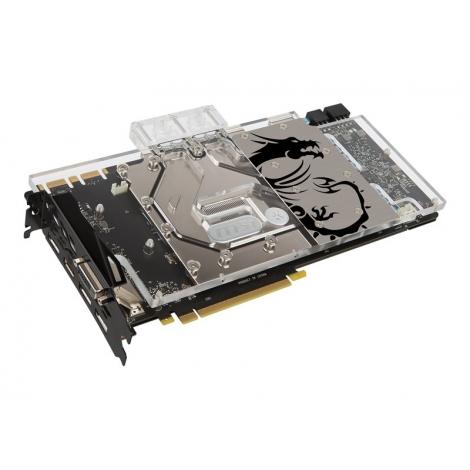 Tarjeta Grafica PCIE Nvidia GF GTX 1080 SEA Hawk EK X 8GB DDR5 DVI 3XDP HDMI