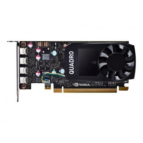 Tarjeta Grafica PCIE Quadro P600 2GB DDR5 4Xmini DP