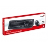 Teclado + Mouse Genius KM-130 USB Black