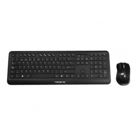 Teclado + Mouse Tacens Anima Wireless  Acpw1 Black