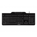 Teclado Cherry KC1000-SC con Smart Card Black