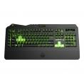Teclado Keep Out Gaming F89CH Iluminado Black/Green