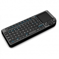 Teclado Leotec Wireless Mini Lerk05 Black Touchpad