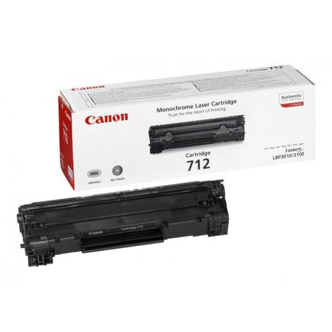 Toner Canon 712 Black LBP 3010 3100 1500 PAG