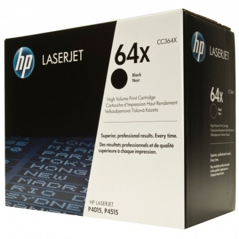 Toner HP 64X Black Gran Capacidad P4015 P4515 24000 PAG