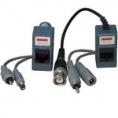 Transceptor Kablex Video Pasivo BNC + DC Jack + RCA / RJ45