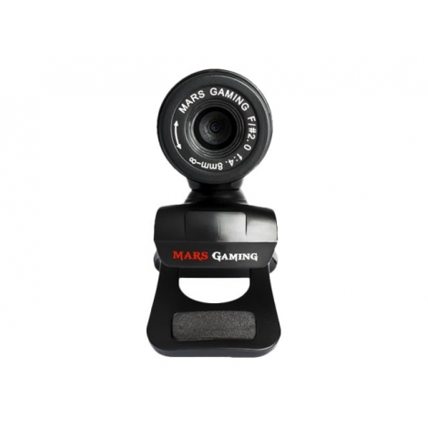 Webcam Mars Gaming HD MW1 Black