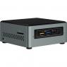 Barebone Intel NUC CEL J3455 2GB 32GB HD Graphics 500 7.1 Glan W10 Black/Silver
