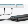 Bateria Externa Universal Anker Powercore 15.600MAH 2Xusb Black
