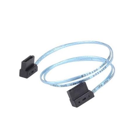 Cable Silverstone CP11 Sata Cable ULTRA-SLIM 0.3M Blue
