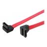 Cable Startech Sata Disco Duro 0.3M Doble Acodado Derecha
