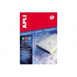 Caja Etiquetas 100H. 70X35 Laser