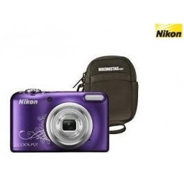 Camara Digital Nikon Coolpix A10 Purple + Funda
