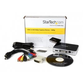 Capturadora Video Startech USB 3.0 RCA VGA DVI HDMI