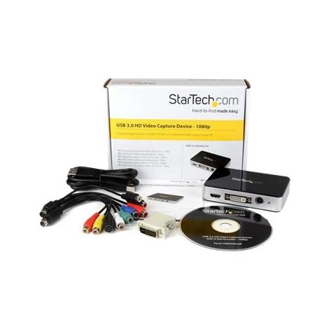 Capturadora Video Startech USB 3.0 RCA VGA DVI HDMI