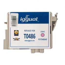Cartucho Reciclado Iggual Epson T0486 Magenta Light 21ML