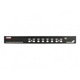 Conmutador KVM Startech 8X1 MON, TEC, RA USB