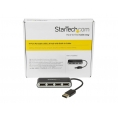 HUB Startech 4 Puertos Mini USB 2.0 Black