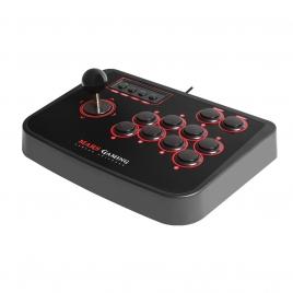 Joystick Mars Gaming MRA Arcade Stick Retro 14 Botones PC / PS2 / PS3 / Raspberry PI