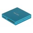 Lector Memorias Nilox 48 EN 1 USB 2.0 Blue