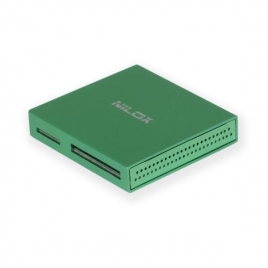 Lector Memorias Nilox 48 EN 1 USB 2.0 Green