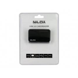 Lector Memorias Nilox 85 EN 1 USB 3.0