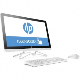 "Ordenador ALL IN ONE HP 24-E002NS CI3 7100U 8GB 2TB 23.8"" FHD Dvdrw W10 White"